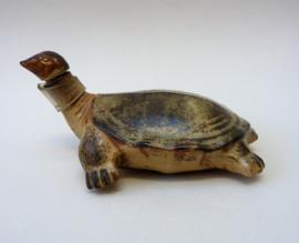 Japans pottery schildpad kruikje