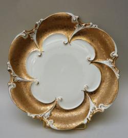 Ilmenau barokke porseleinen fruitschaal
