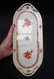 Herend Chinese Bouquet Garland Rust sandwichschaal
