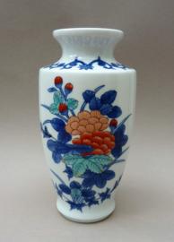 Japanse Imariyaki Rozangama porseleinen vaas