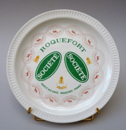 Faience kaasbord Fromages de France Roquefort