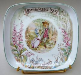 Royal Albert Beatrix Potter Jemima Puddle Duck bordje