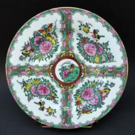 Chinees 1960 Rose Medallion bord