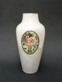 Art Deco porseleinen lusterware vaas