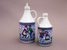Altenkunstadt Bavaria porseleinen schnapps flesjes