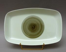 Figgjo Flint V555 Groene cirkel rechthoekige serveerschaal