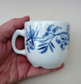 Porsgrund Blue Onion losse koffiemokje