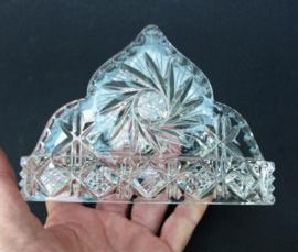 Kristallen servethouder