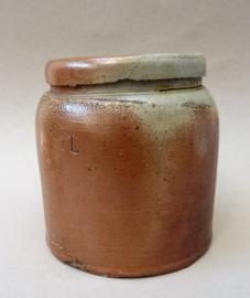 Antieke Duitse Gres pot