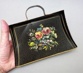 Antiek handbeschilderd tafelblik