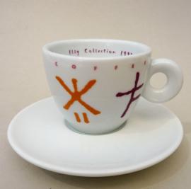 Illy Art Collection 1992 Arti e Mestieri Matteo Thun espresso kop Mysterious Coffee