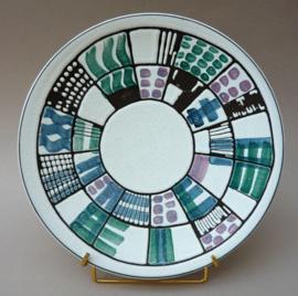 Potterie De Groene Kan Mid Century pottery schaal