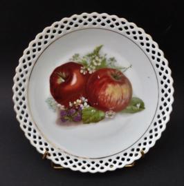 Schumann Bavaria fruitbordje appels met opengewerkte rand