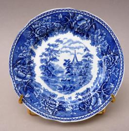 Arabia Landscape Blue broodbordje side plate 15 cm