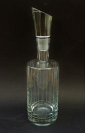 Nachtmann Mid Century kristallen karaf met asymmetrische stop