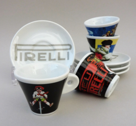 Pirelli limited edition espressokopjes