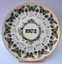 Wedgwood kalenderbord 1973 Bountiful Butterfly