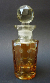 Art Deco Marigold Carnival Glass parfumfles