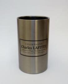 Charles Lafitte design RVS champagnekoeler