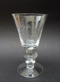 Bubbeltjesglas wijnglas transparant