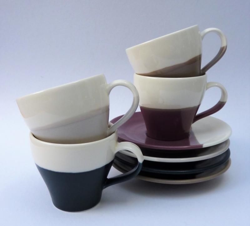 "ROYAL DOULTON /""CHIFFON/"" ESPRESSO COFFEE CUP  /& SAUCER"