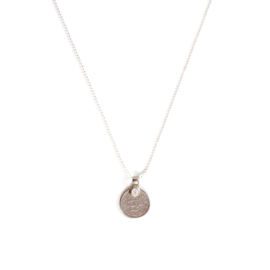 VINTAGE COIN NECKLACE 925 silver
