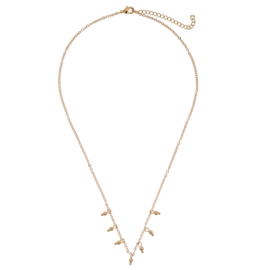 TINY BEADS NECKLACE - gold