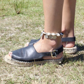SHELL COIN ANKLET