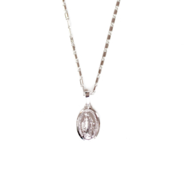 BIG MARIA NECKLACE - silver