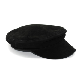 LEATHER SAILOR CAP