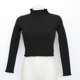 ROUCHE TOP - black