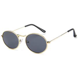 RETRO SUNNIES - gold/black