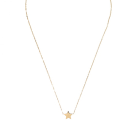 YOU'RE A STAR NECKLACE - gold