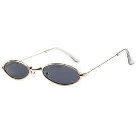 ULTRA RETRO SUNNIES - gold/black