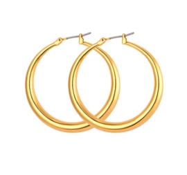 GYPSY HOOPS - gold medium (pair)