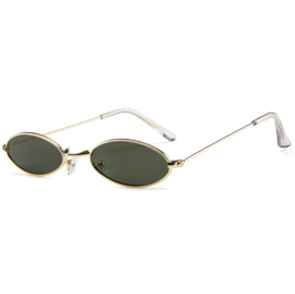 ULTRA RETRO SUNNIES - gold/green