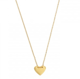 IN MY HEART NECKLACE - gold