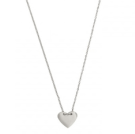 IN MY HEART NECKLACE - silver