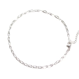 SHORTIE CHAIN - silver