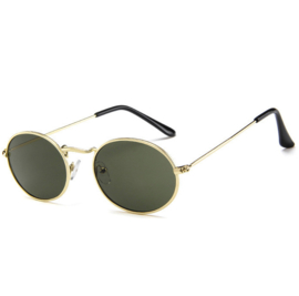 RETRO SUNNIES - gold/green