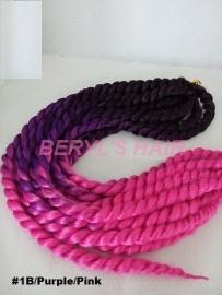 Mambo Twist #1B/Purple/Pink