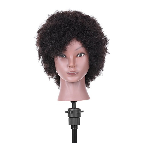 Training Mannequin - Afro Oefenhoofd