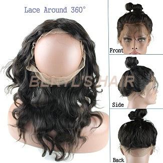 360 Graden Lace Wig