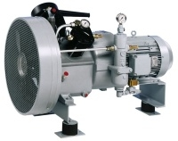 Shipping 2-stage air-cooled compressor up to 40 bar