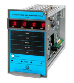 MSA 610A Four Channel Combustible Gas Monitor
