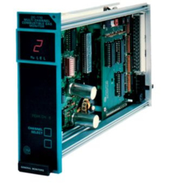MSA DC110 Eight Channel Combustible Readout / Relay Module