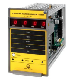 MSA 2280A Four Channel H2S Gas Monitor