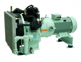 Marine Control and working pressure compressors up to 10 bar