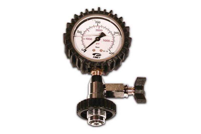 Test pressure gauge 300 bar