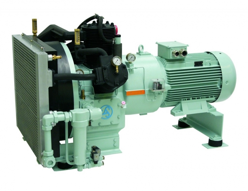 Shipping Control and working air compressors up to 12 bar